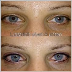 Permanent Make Up Ober Und Unterlider Birgit Getter Styling