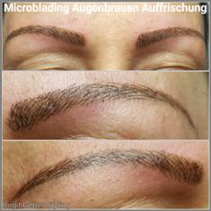 Microblading-Augenbrauen