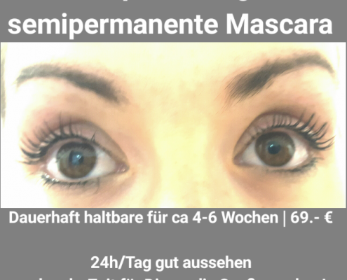 Wimpernlifting   semipermanente Mascara