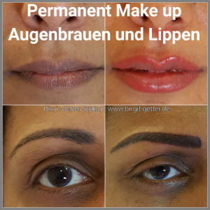 Schön mit Permanent Make up