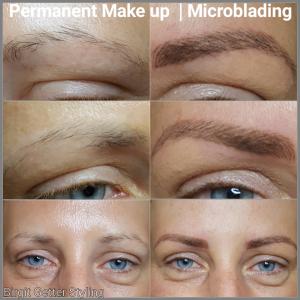 Microblading-Augenbrauen-vorher-nachher