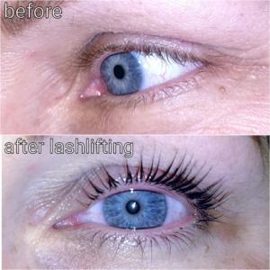 Wimpern-Lash-Lifting-mit-Wimpernfarbe-Wimpernlaminierung