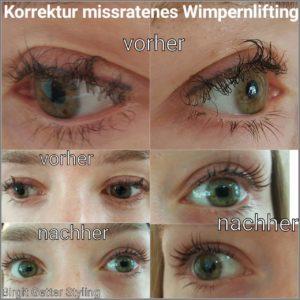 Wimpern-Lash-Lifting-Korrektur-missratenes-Lashlifting-Wimpernlaminierung