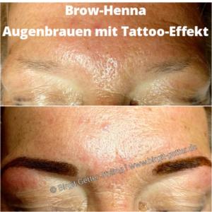 BrowHenna-Augenbrauen